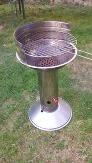 Grill Säule Edelstahl Standgrill - Barbecook