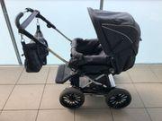 Emmaljunga Kinderwagenset - Babyschale Buggy Wickeltasche