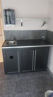 Handwaschbecken V2A (Hygieneschrank)