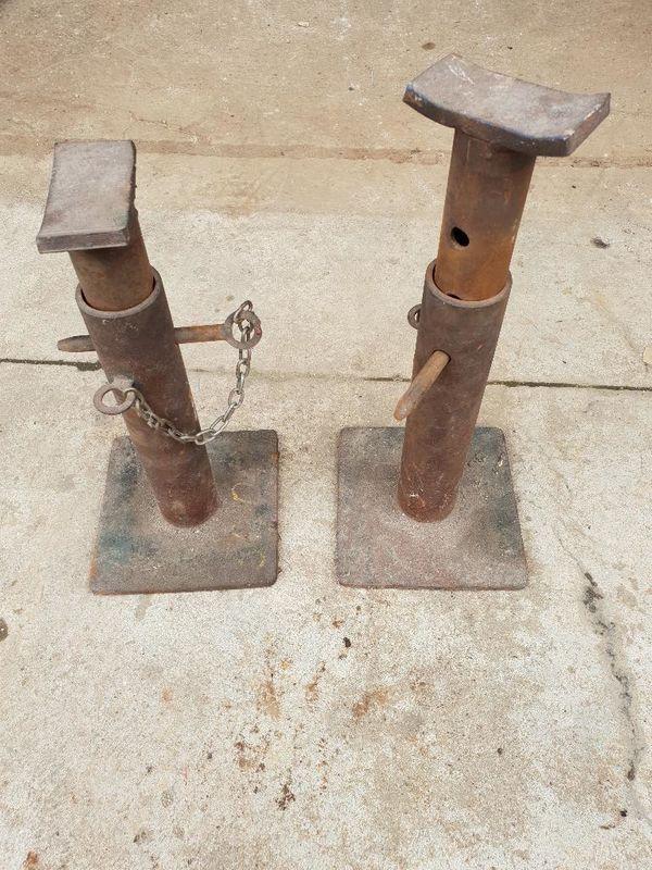 Unterstellbock Abstellbock Stützbock Schwerlastbock verstellbar