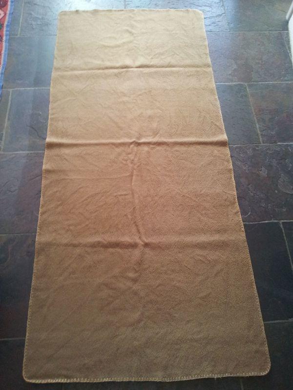 Yogamatte - Yoga - Schafwolle (Merino) - Weihnachtsgeschenk in ...