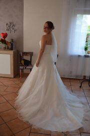 Hochzeitskleid A-/Duchesslinie