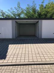 Abschließbare Garage zu vermieten An