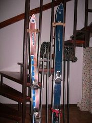 ski mit schuhe