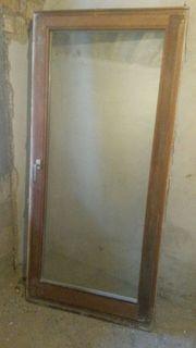 Meranti Dreh- kipp Fenstertür mit