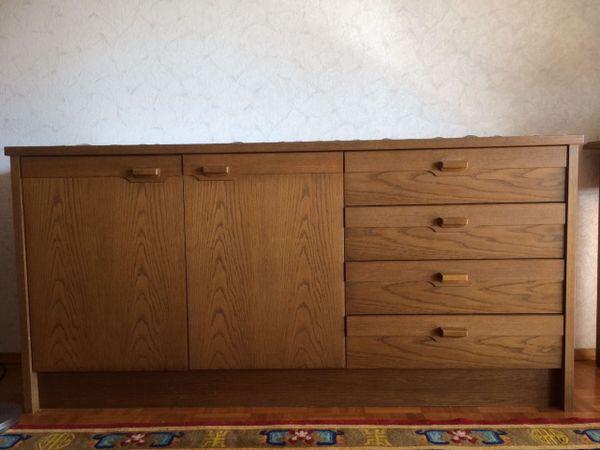 Sideboard 2 Türen mehrere Schubladen