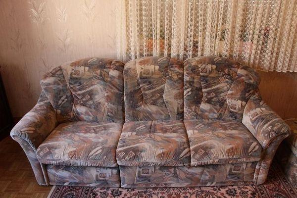 Sitzgarnitur 1 Sofa 2 Sessel 1 Hocker 1 Tisch In Birkenfeld