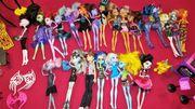 Monster High Puppen 22Stück mit