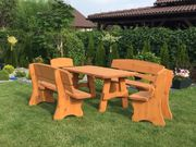 Gartenmöbel, Massivholz Garten-
