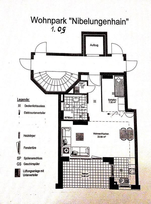 Single Wohnung 1, » Vermietung 2-Zimmer-Wohnungen