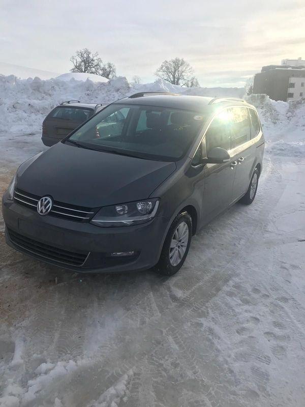 VW Sharan TDI Bj2015