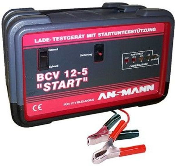 Ansmann Pkw Kfz Batterie Ladegerat Batterieladegerat Tester 12v In
