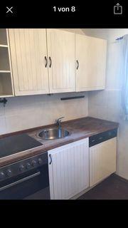 Küchenzeile inklusive Elektrogeräten