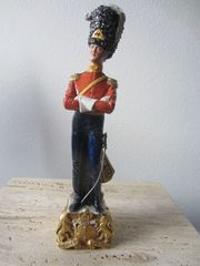 Capodimonte Soldaten Figur in Uniform