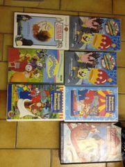 Kinderfilme VHS mehrere deutsche und