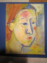 Damenportrait Frau Bernhard