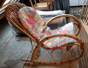 Schaukelstuhl mit Sitzpolster